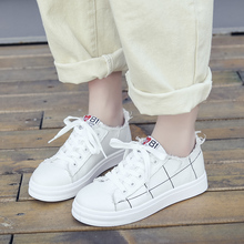 YeddaMavis White Canvas Shoes Women Sneakers Spring Korean Harajuku Lace Up Womens Casual Woman Trainers
