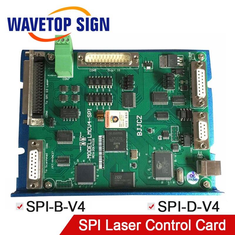 JCZ SPI laser control card SPI-D-V4 SPI-D-V4 use for SPI laser module G3/G4 laser + SOFTWARE EZCAD V2+MANUAL цена