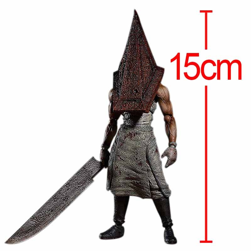 15cm Figma SP055 Silent Hill 2 Red Pyramd Thing PVC Action Figure Collectible Model Toy Free Shipping босоножки l0343 2 2014 15 cm