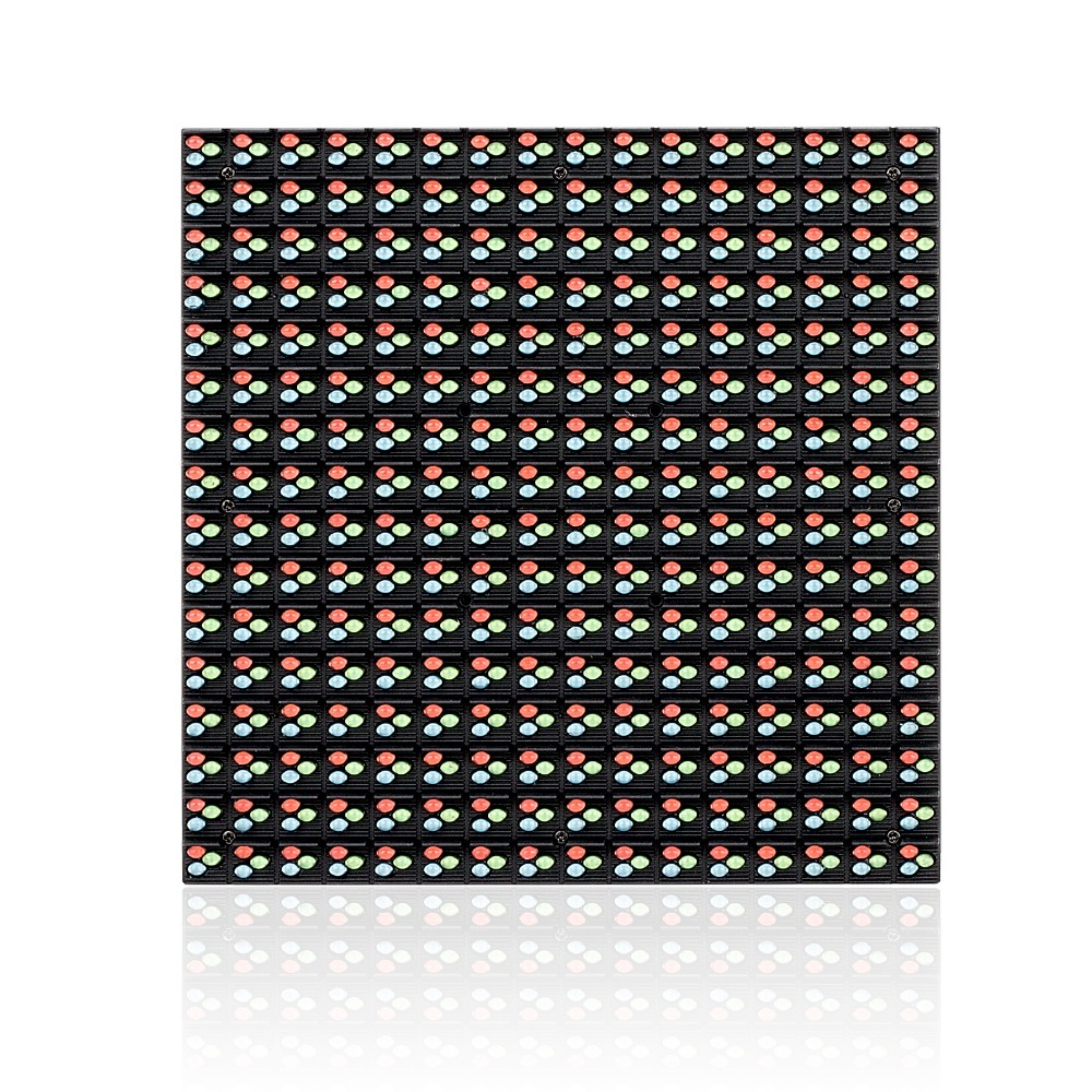 160*160mm P10 RGB Full Color Video LED Sign 1/4 Scan Mode Waterproof Programmable Outdoor LED Module