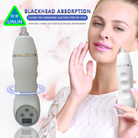 LINLIN Clean Blackhead Vacuum Suction Remove Machine Facial Pore Cleaner Diamond Dermabrasion Device Skin Peeling Acne comedones