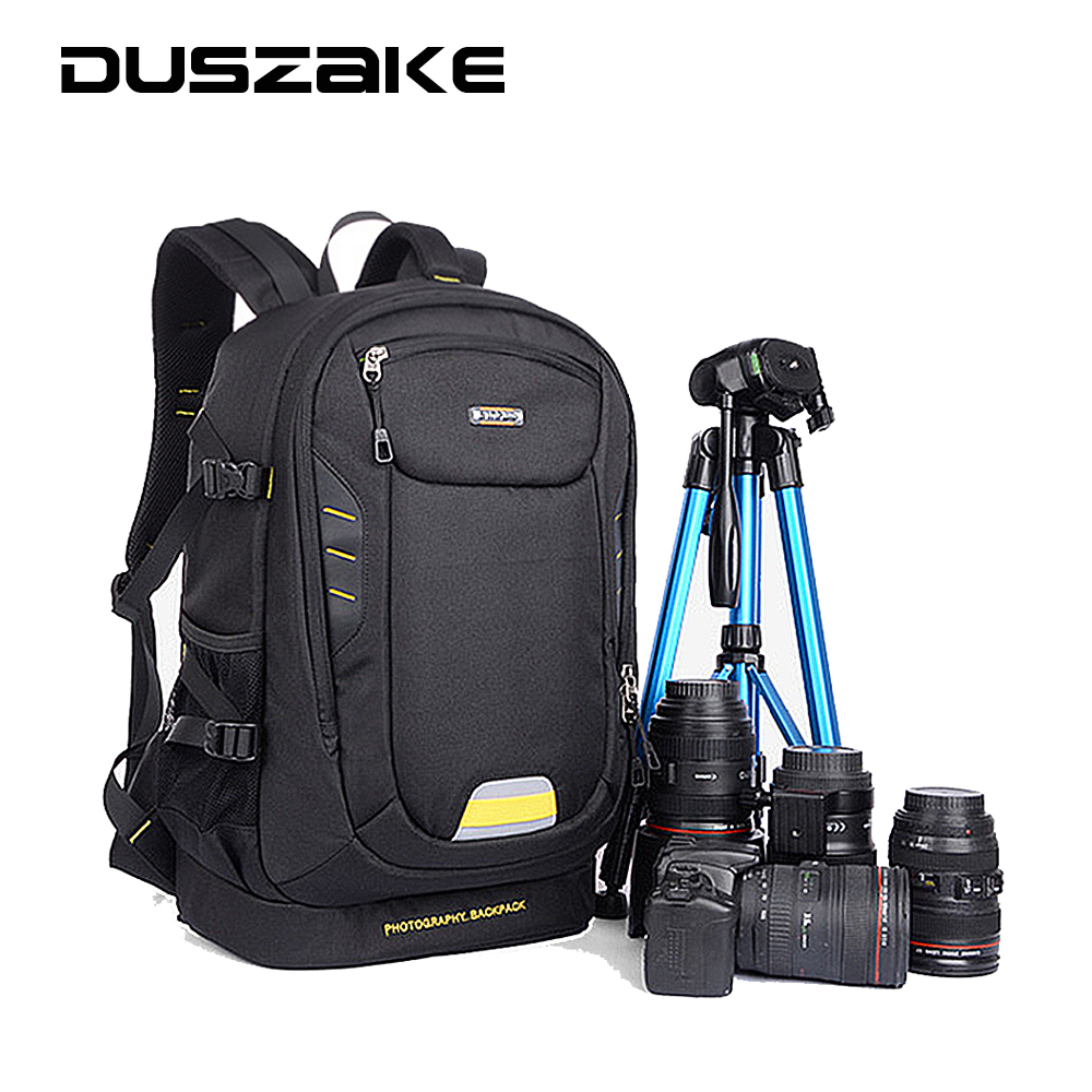 ФОТО Photography DSLR  Camera Backpack with Padded Dividers insert Tripod Holder for Canon 5D 7D 6D Nikon D7200 D40 D5300 Sony A7 26