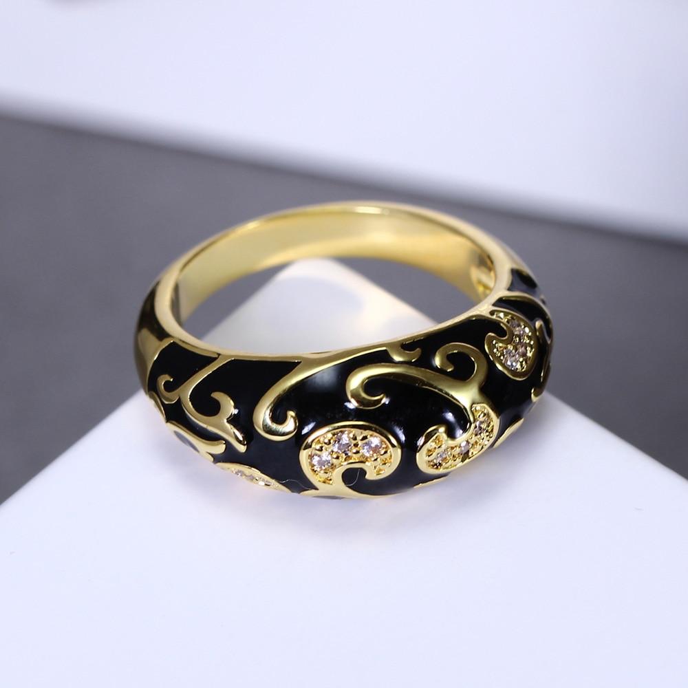 DreamCarnival1989 Nuevo diseño tallado anillo de compromiso popular - Bisutería - foto 3