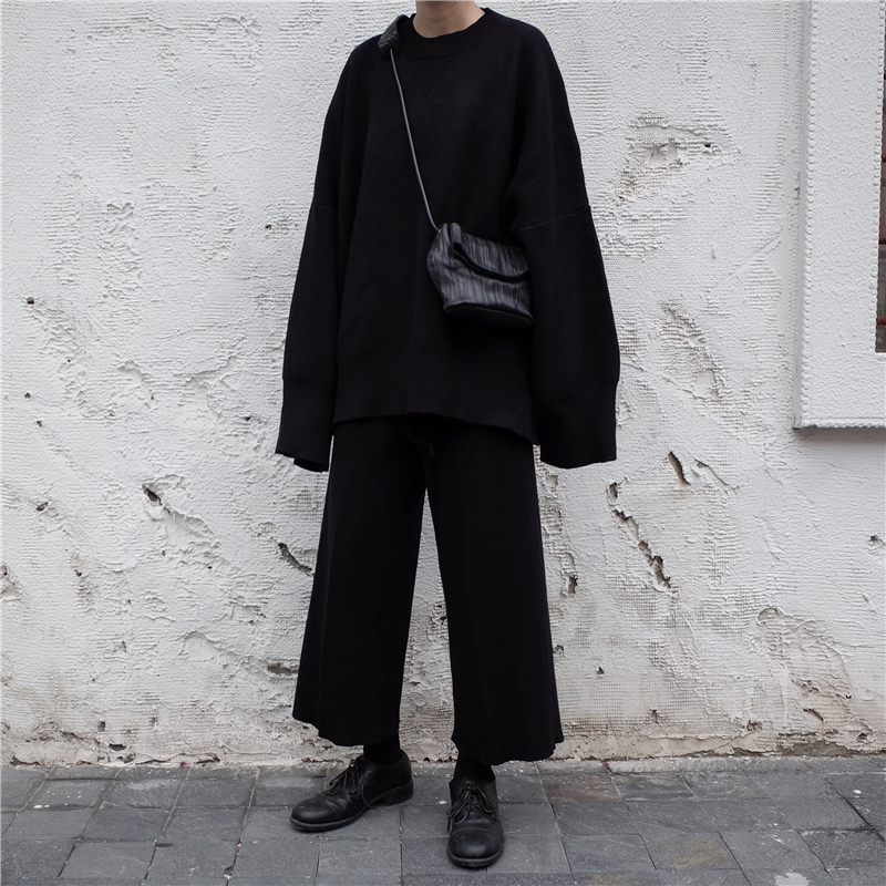 [EAM] 19 New Spring O Collar Full Sleeve Loose Casual Asymmetrical Large Size Kintter Puffover Women Fashion Tide OB275 4