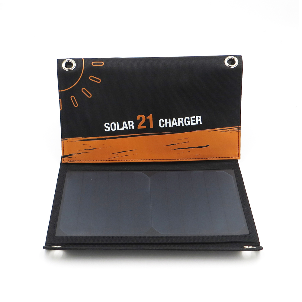 Solar Charger 21W 1200mA Solar Panels Charger with Usb Port Solar Battery Charge Power for Mobile Phones 5V USB PortableSolar Charger 21W 1200mA Solar Panels Charger with Usb Port Solar Battery Charge Power for Mobile Phones 5V USB Portable