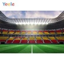 цена Yeele Football Giant Club Soccer Field Sports Photography Backdrops Custom Poster Photographic Backgrounds For Photo Studio Kids онлайн в 2017 году