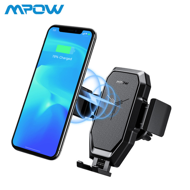 Aliexpress.com : Buy Mpow CA099 Wireless Charger 10W/7.5W/5W Charging Model For iPhone Xs Max Xr