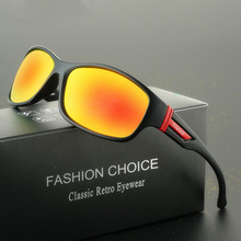 2018 Luxury Brands Goggles sport Polarized Men Driver sunglasses  Outdoor UV400 Male with Original logo