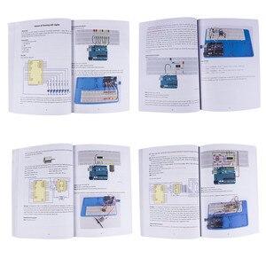 Image 4 - SunFounder Elektronik DIY Süper Başlangıç Kiti V3.0 Öğretici Kitap Arduino UNO için R3 Mega 2560 (kontrol panosu dahil değildir)