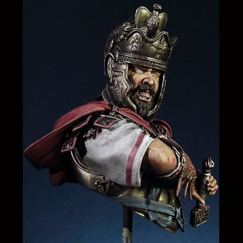 1/10 Resin Bust resin kits history of the war Rome cavalry officer role model Unpainted and not assembled Free shipping wwii hms surprise captain jack resin soldier bust model resin bust master and commander