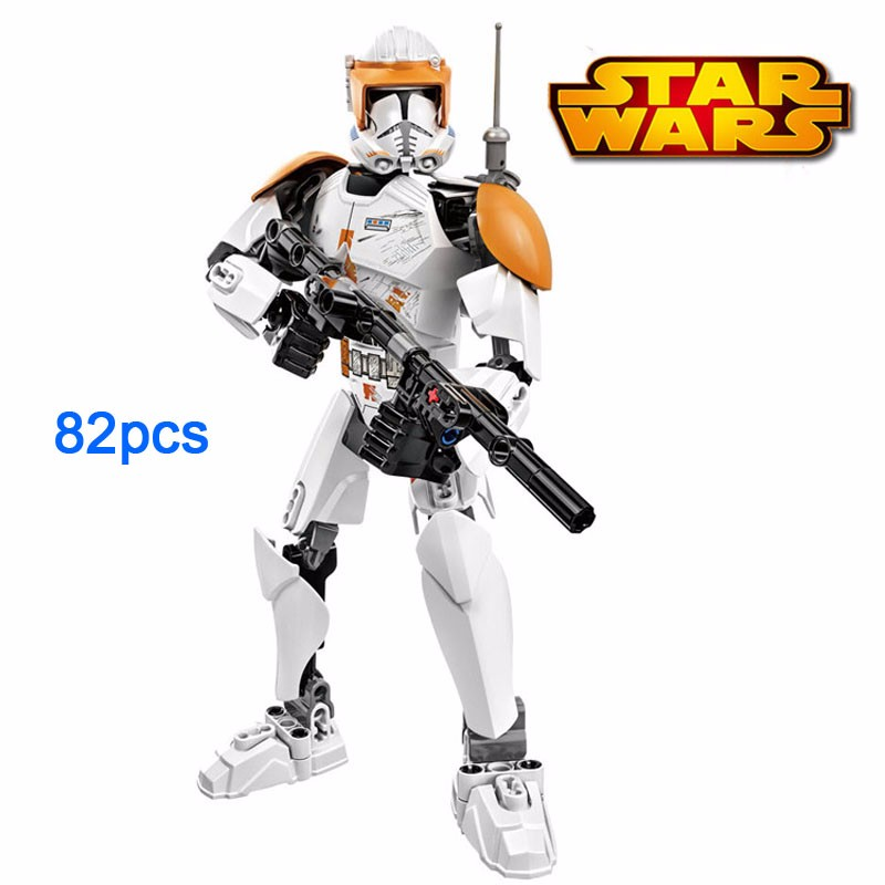 Blocks Star Wars Assembly Action Figure 15