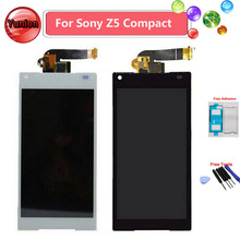New LCD Display With Touch Screen Digitizer For Sony Z5 Mini Z5 Compact E5823 E5803 Free Shipping