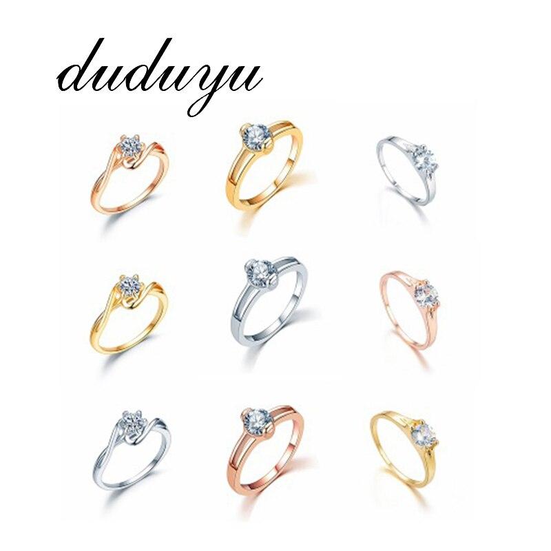 2018 Neue Titan Edelstahl Ringe Für Frauen Kreis Cz Schmuck Mode Hochzeit Finger Ring Für Weibliche Geschenk Heißer Verkauf Diversifizierte Neueste Designs