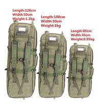 Tactical Equipment 85CM 100CM 120CM Military Hunting Backpack Airsoft Square Gun Bag Protection Case Rifle Backpack