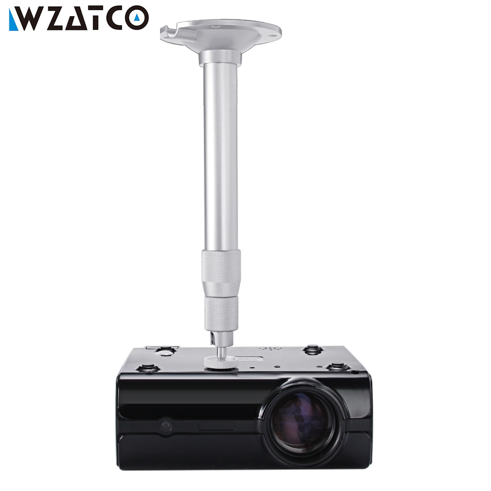 Wzatco Projector Brackets Wall Ceiling Mount 360 Degrees