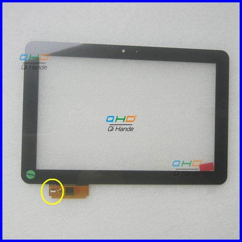 Black New 10.1'' Inch Touch Screen for PRESTIGIO MultiPad PMP7100D3G DUO Digitizer glass Sensor a11020a10089_v03 A1WAN06