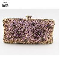 XIYUAN BRAND diamond crystal Wallet Long Design Day Clutch for wedding Casual Lady Cash Purse Women Hand Bag Carteira Feminina