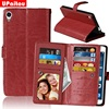 UPaitou 9 Card Holder PU Leather Case For Sony Xperia XA Ultra F3211 F3213 Dual F3212 F3216 Flip Wallet Cover Cases Phone Pouch