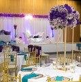 10 stücke kuchen stehen halter Blume Vase Boden Vasen gang gehweg Straße Führen requisiten Hochzeit Mittelpunkt Blume Rack Event Party decor