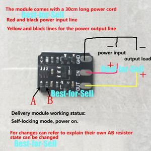 Image 5 - Mini Touch Schakelaar Dc 3V 18V 12V 2A Capacitieve Touch Bistabiele Elektronische Schakelaar Module Led Relais 5V Voor Acryl Keramische