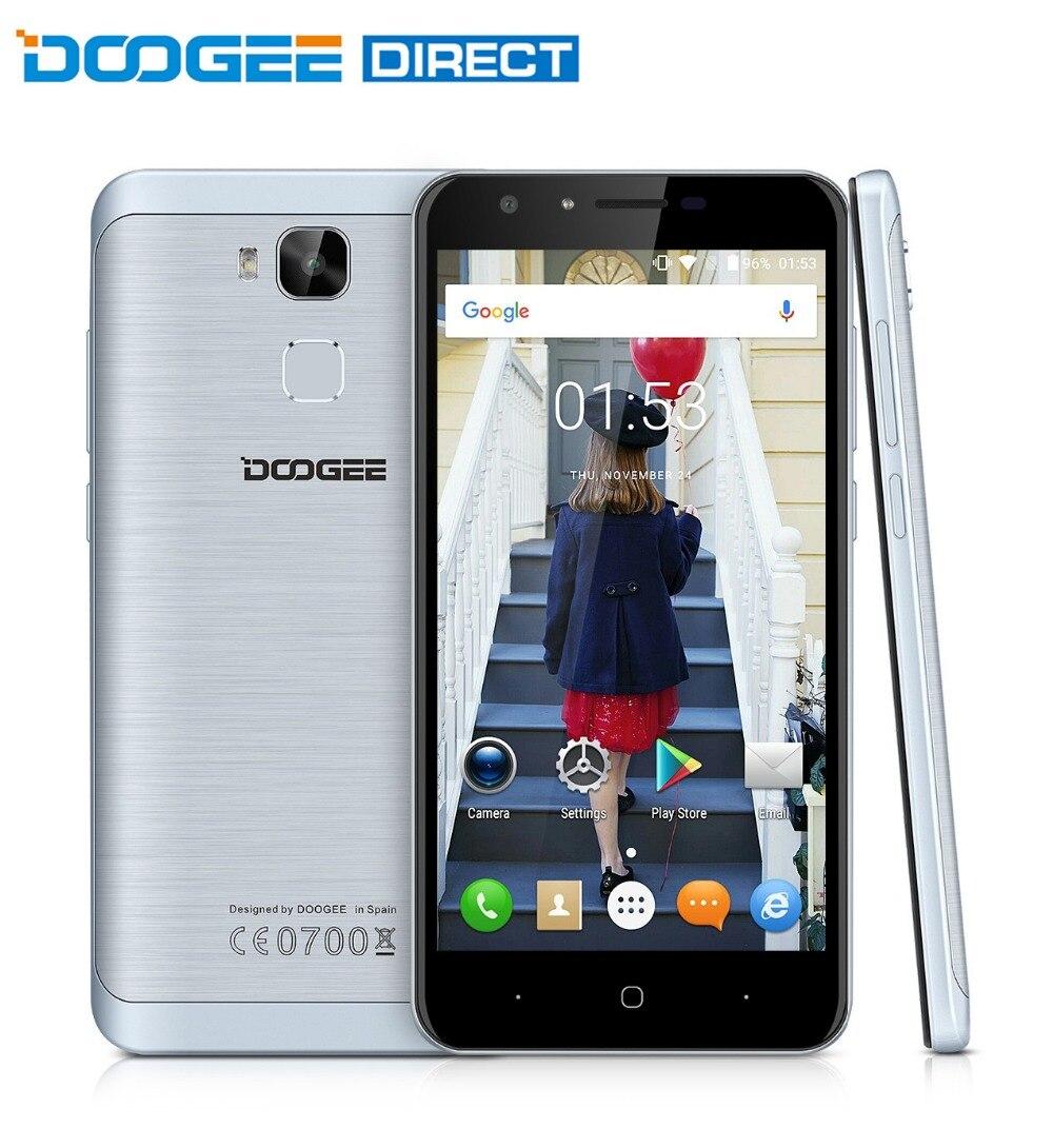 bilder für Doogee y6/y6 klavier android 6.0 smartphone 5,5 zoll 4g phablet mtk6750 octa-core 1,5 ghz 2 gb + 16 gb/4 gb + 64 gb 13mp + 8mp kameras
