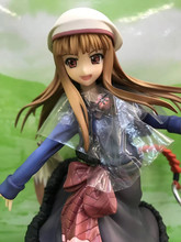 100mm Sexy Spice and Wolf Anime HOLO purple dress ver Action Figure PVC Collection toys for