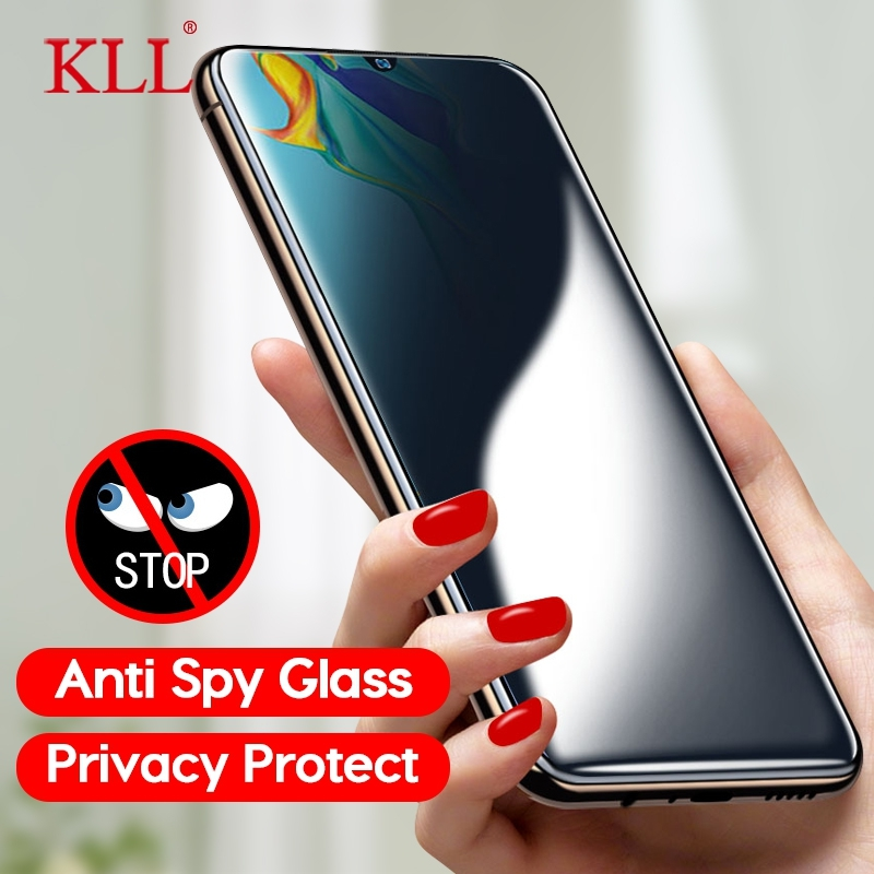 Anti-spy Tempered Glass For Huawei P30 P20 Lite Pro Anti-Peep Privacy Screen Protector For Huawei Mate 20 10 Lite 20X 10 Pro
