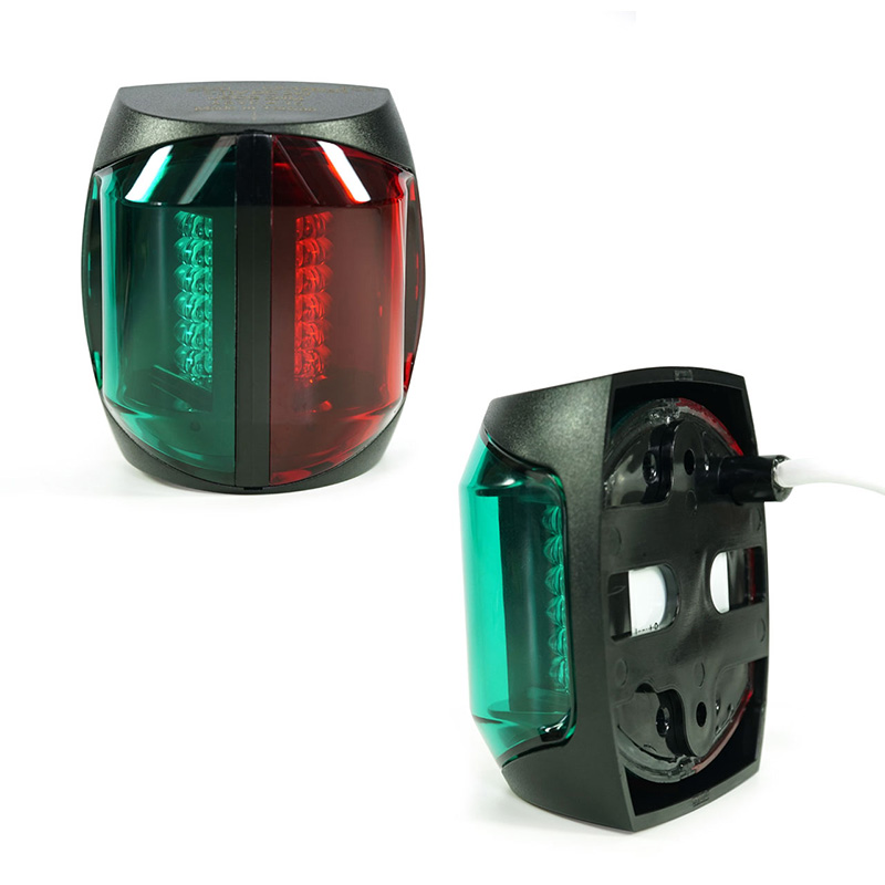 Image 4 - 12V Marine Boat LED Navigation Light 2W Bi Color Red Green Plastic Port Starboard Light-in Marine Hardware from Automobiles & Motorcycles