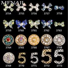 Novel Nail Art Rhinestones Crystal Stones (BIG/Small 5) 20 Color 7-14mm Shiny DIY Charms Jewelry Decoration 3754-3773