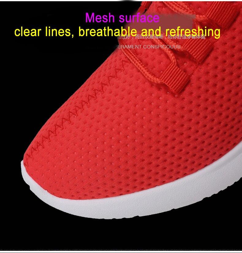 Pure Color Light Casual Shoes Mesh Cloth Men's Shoes Breathable Walking Jogging Shoes Large Size Men's Shoes 46 (5)
