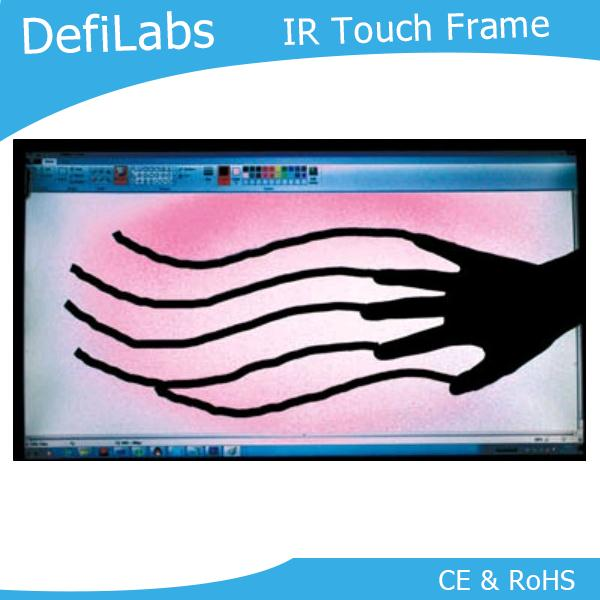 defilabs 10 touch points 46 infrared touch screen frame. Black Bedroom Furniture Sets. Home Design Ideas