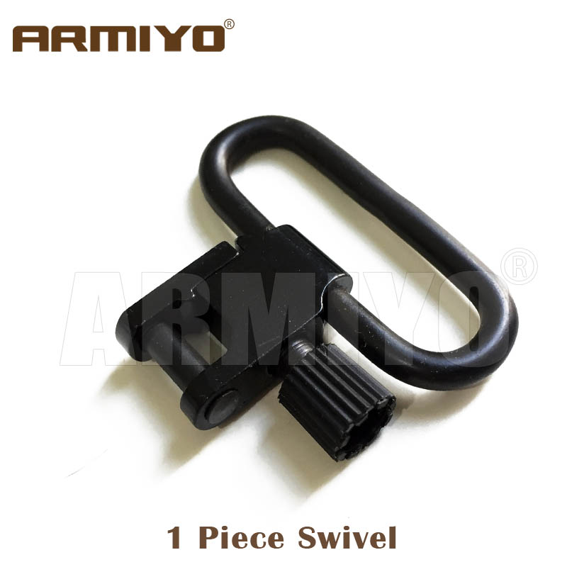"Armiyo 1.25"" 32mm Hunting Rifle Tactical Gun Quick Detachable Sling Swivel Fit Bolt Base Mount Shooting Paintball 1403-3-1"