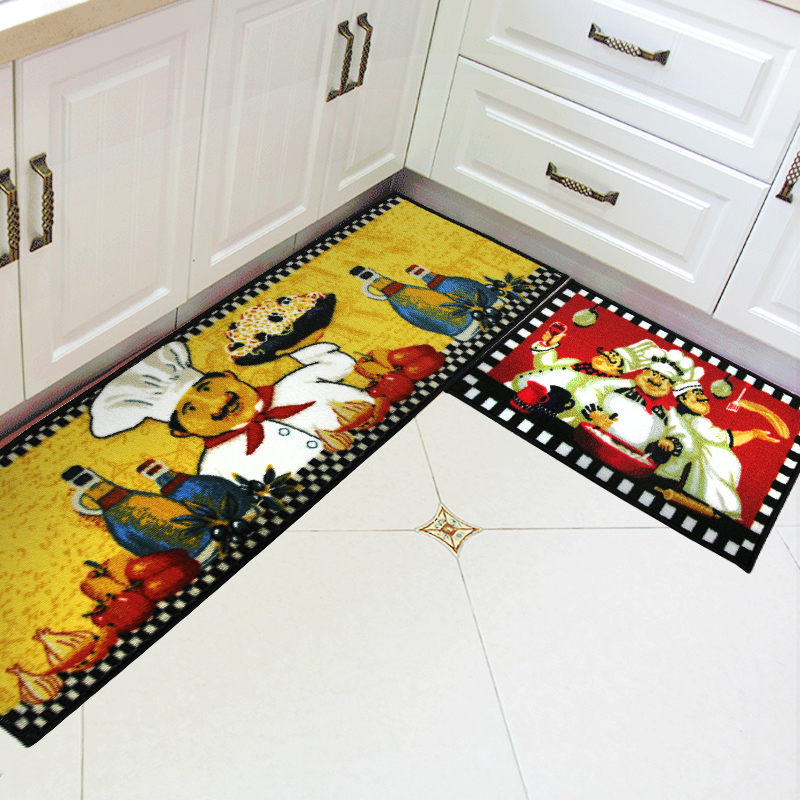 40X60+40X120CM/Set Traditional Chinese Kitchen Mat Home Entrance/Hallway  Doormat Wardrobe/Balcony Area Rug Anti Slip Bath Carpet In Mat From Home U0026  Garden ...