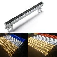 חיצוני חזית בניין מקרן 36 W IP65 DC24V אלומיניום LED מכונת כביסה קיר בר אור Led מבול אור חיצוני עבור מלון