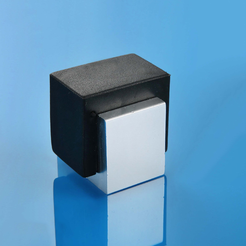 Rubber Door Stops Aluminium Alloy Door Stopper Wood Door Holder Toilet Glass Door Hidden Doorstop Furniture Hardware