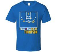 Klay Thompson Made 37 Điểm 1 quý Golden State Basketballer Ghi Lại T Áo Sơ Mi
