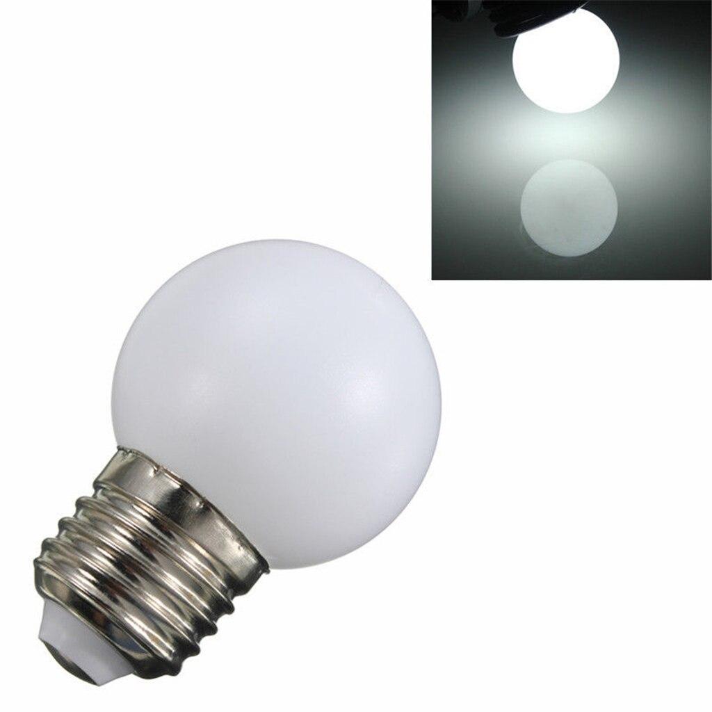 AC220V Input Voltage E27 Base Type 3W Power Energy Saving Long Life Span LED Light Bulb for Home Bar TV Garden Use White