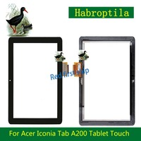 High Quality 10 1 For Acer Iconia Tab A200 Tablet Touch Screen Digitizer Panel Front Glass