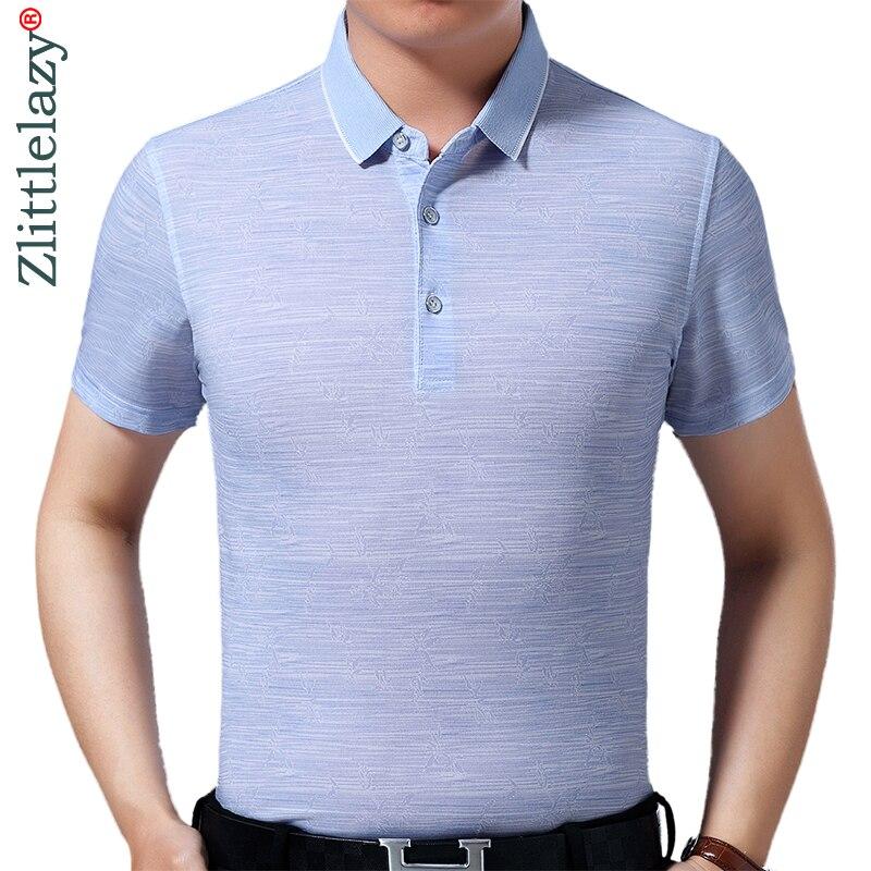 2019 Marke Casual Sommer Gestreiften Kurzarm Polo Shirt Männer Polo Jersey Luxus Herren Polos T-shirts Kleid Fashions 42251 AusgewäHltes Material Mutter & Kinder