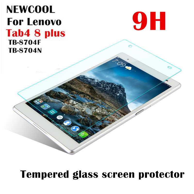 for Lenovo TAB4 8 Plus TAB 4 8 Plus TB-8704N TB-8704F TB-8704 TB-8704X 9H Tempered Glass Screen Protector Protective Film Guard aiyoo 9h tempered glass for lenovo tab 4 10 screen protector film for lenovo tab4 10 tb x304f tb x304n 10 1 tempered glass film