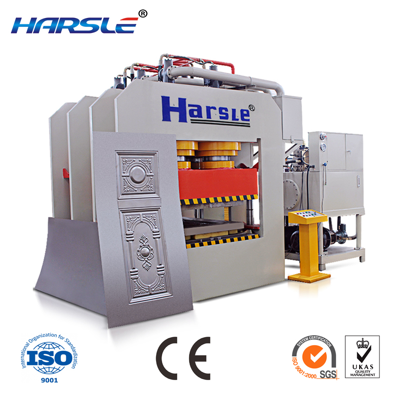 Doors embossed stainless steel cold hydraulic press hydraulic press hydraulic iron embossing machine