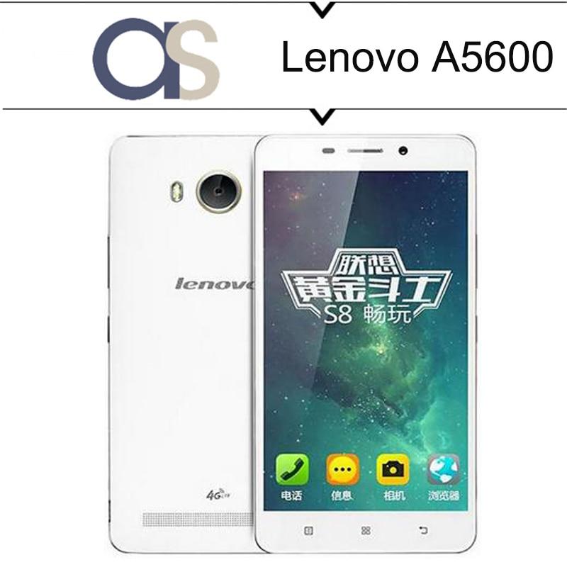 100% Original Lenovo A5600 LTE 4G Mobile Phone Android 5.1 MTK 6735P 1.0GHz Quad Core 1G RAM 8G ROM 5.5inch 720P 8.0MP camera