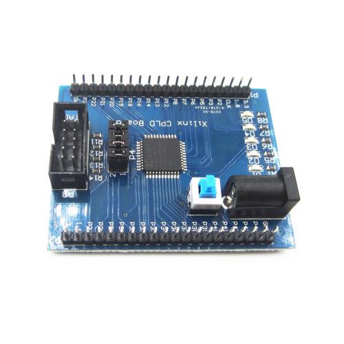 Xilinx XC9572XL AMS CPLD development learning board test board+4 programm LED xc9572xl 10tqg100c xc9572xl 10tq100c xc9572xl xc9572 tq100