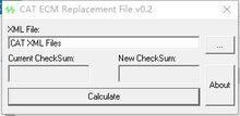 Замена ECM файл v0.2 FORCAT