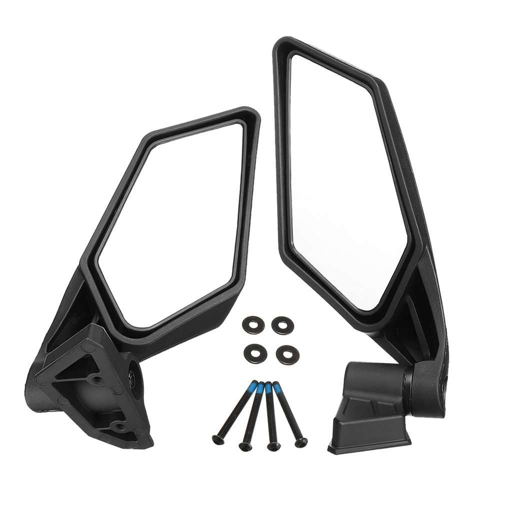 Racing Side Mirrors Set for Can-Am Maverick UTV Off-road X3 2017 2018 Adjustable Mirrors for Maverick X3 for MAX SSPRacing Side Mirrors Set for Can-Am Maverick UTV Off-road X3 2017 2018 Adjustable Mirrors for Maverick X3 for MAX SSP