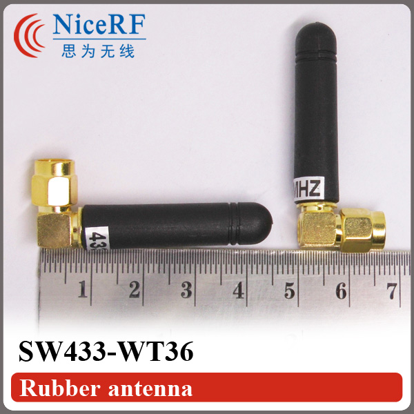 8pcs / lot SW433-WT36 433MHz Antena Rod Penelin ar gyfer Modiwl RF