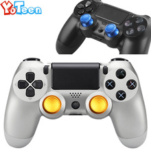 timeless design 774dd 64510 2Pcs Aluminum Thumbsticks Analog Caps for Sony PlayStation 4 for PS4 Xbox  One Metal Joystick Cap