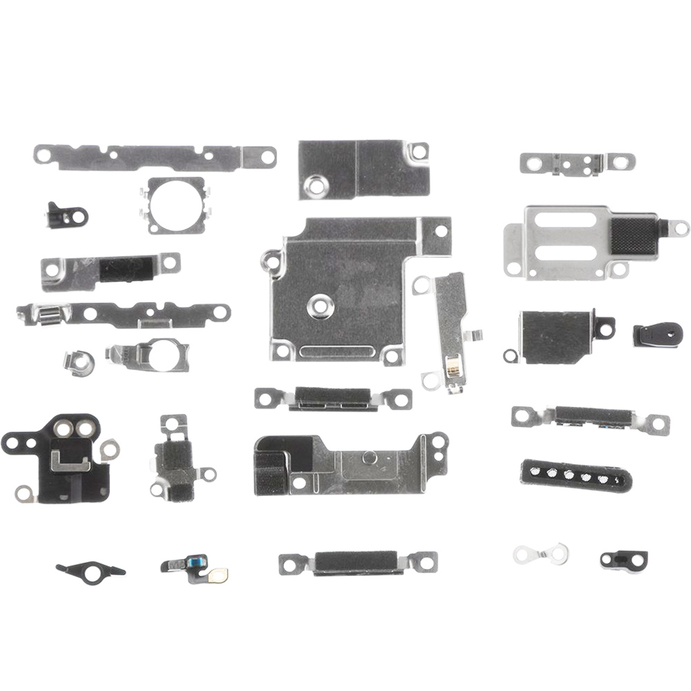 Full Set Small Metal Internal Bracket Replacement Parts Shield Plate Kit For IPhone 6 6p 6s 6sp 7 7P 8 8 Plus X