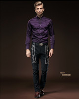 Free Shipping New Male Men S 2015 Fashion Casual Personality 518056 Embroidered FanZhuan Pants Trousers Customized