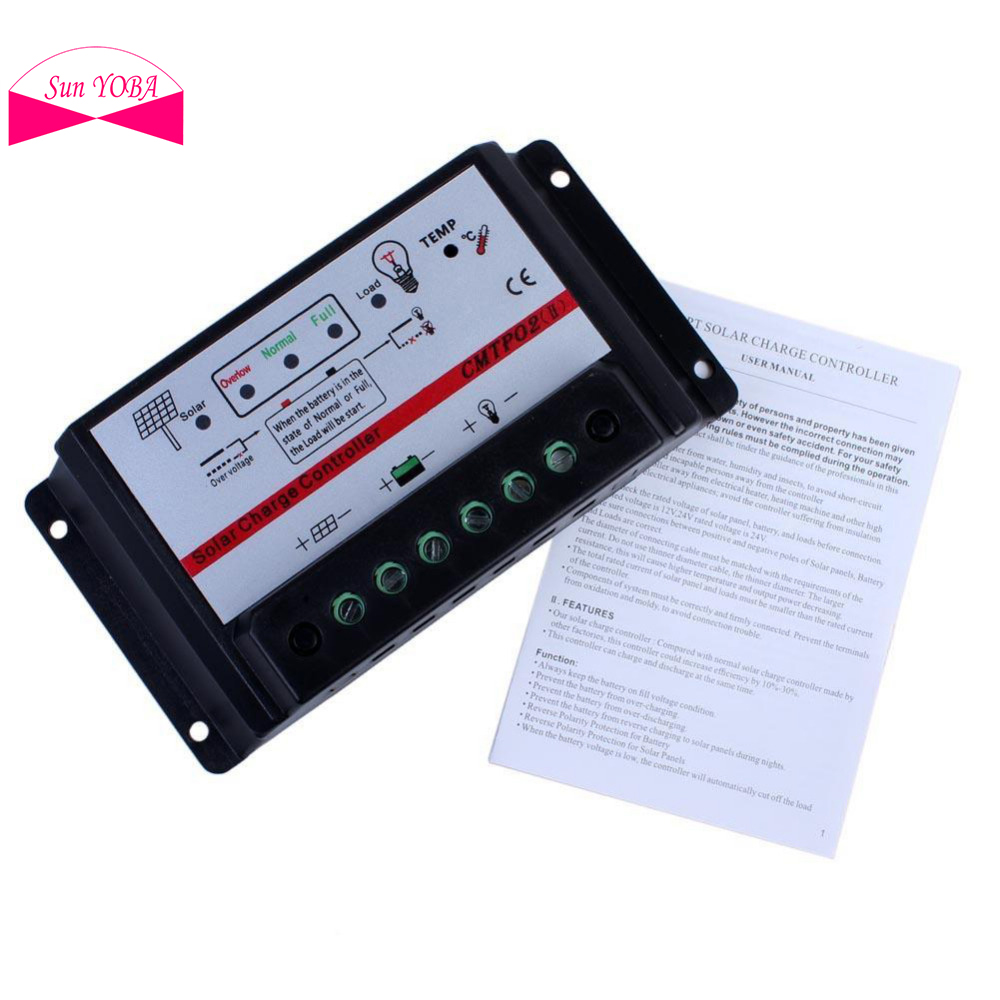 MPPT Solar Charge Controller 30A 12V/24V Auto Switch Solar